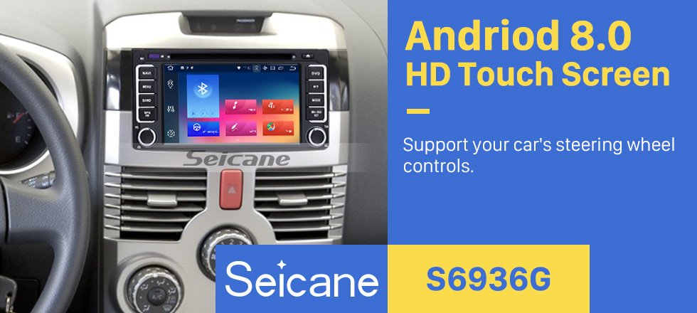 Seicane HD Touchscreen 2006-2010 Toyota Terios Android 8.0 Radio DVD GPS navigation system with Mirror link Bluetooth OBD2 DVR Rearview Camera Steering Wheel Control 3G WIFI 1080P