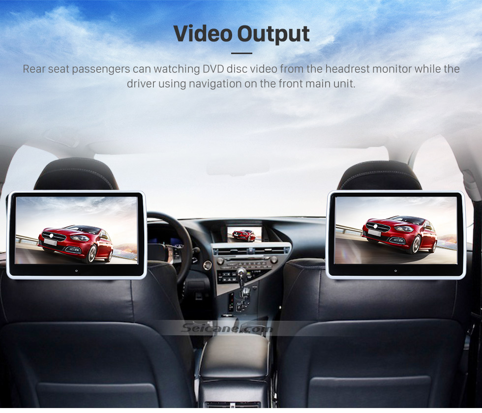 Seicane 8,8 Zoll 1280 * 480 Android 7.1 Touchscreen Radio für 2002-2008 Audi Allroad A4 S4 RS4 mit Bluetooth GPS Navigationssystem Bluetooth TPMS DVR OBDII WiFi Lenkradsteuerung