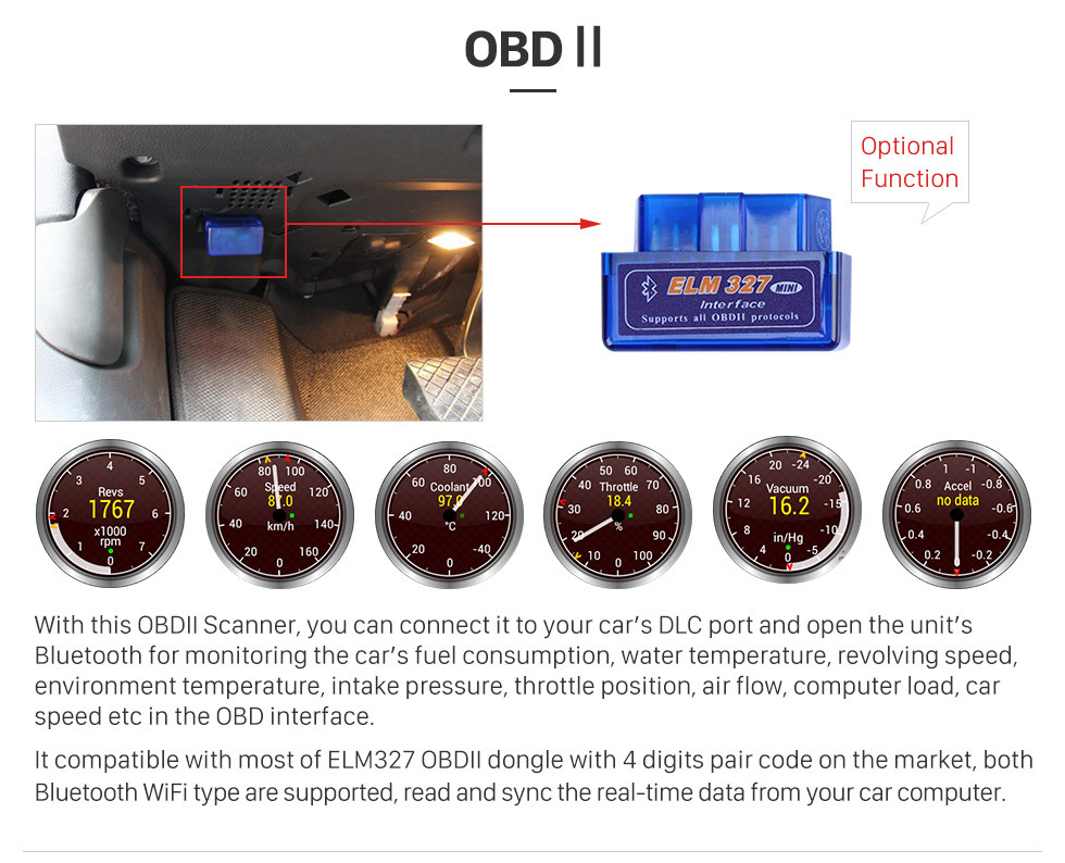 Seicane 10.35 Inch Touch Screen 2015 Subaru Legacy OUTBACK Bluetooth Android 8.1 GPS Navigation System with OBDII  AUX  Steering Wheel Control USB 1080P Mirror Link 3G WiFi TPMS DVR Bluetooth Rear Camera