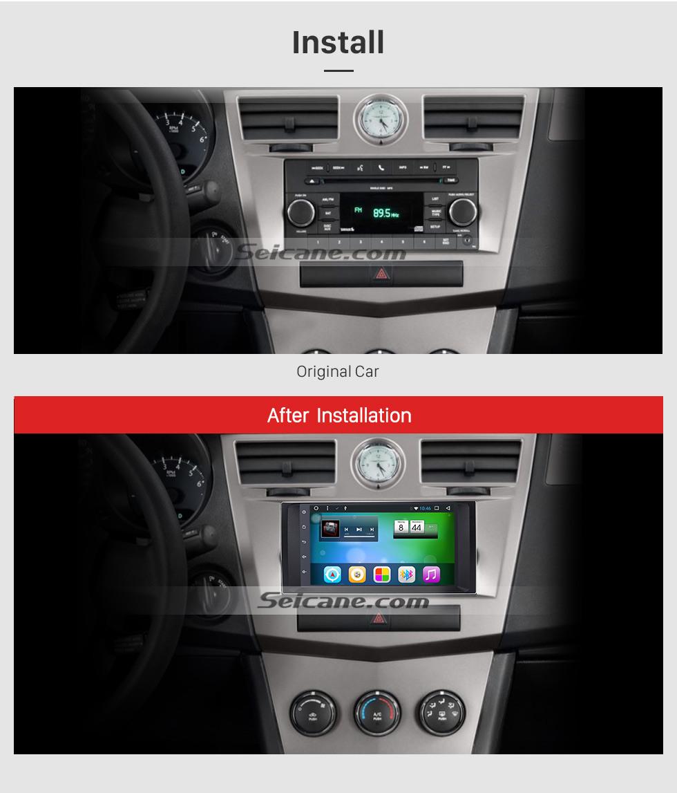 Seicane HD 1024 * 600 с сенсорным радио для 2009 2010 2011 Jeep Compass с Android 8.1 GPS навигационная система DVD-плеер Bluetooth MP3 Зеркальная связь WIFI 1080P Видеоролик Управление