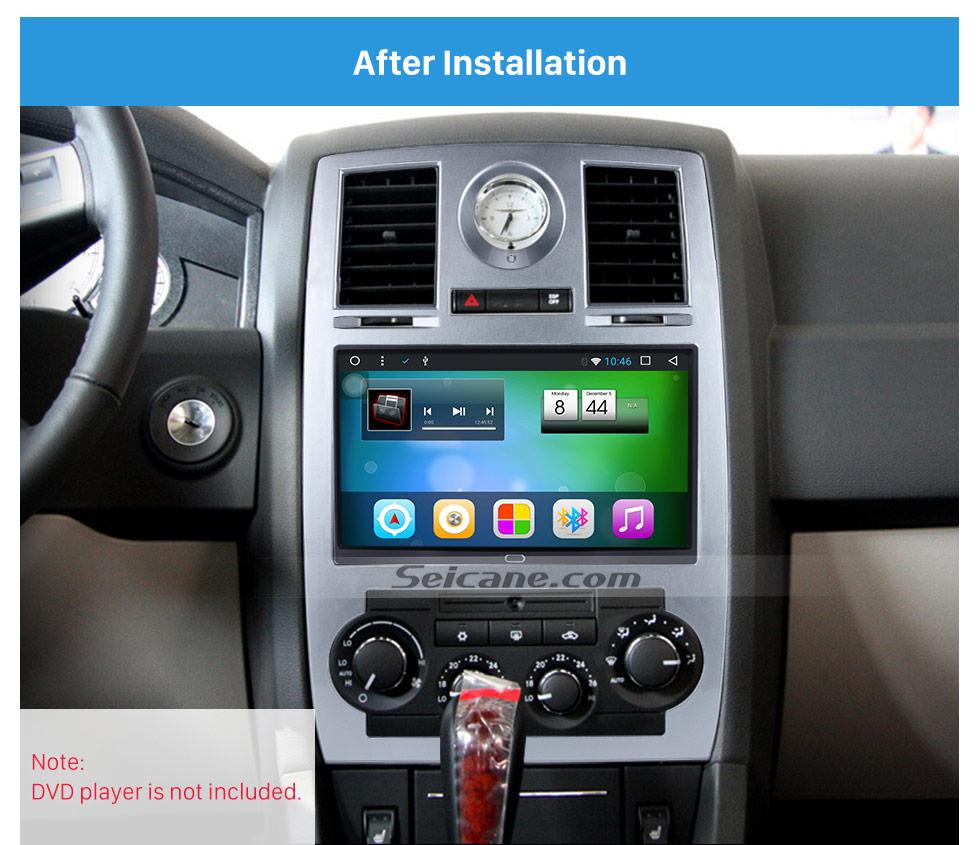 Seicane Seicane Double Din DVD CD Player Trim Panel Car Radio Fascia for 2004, 2005, 2006 - 2008 Chrysler Aspen 300C