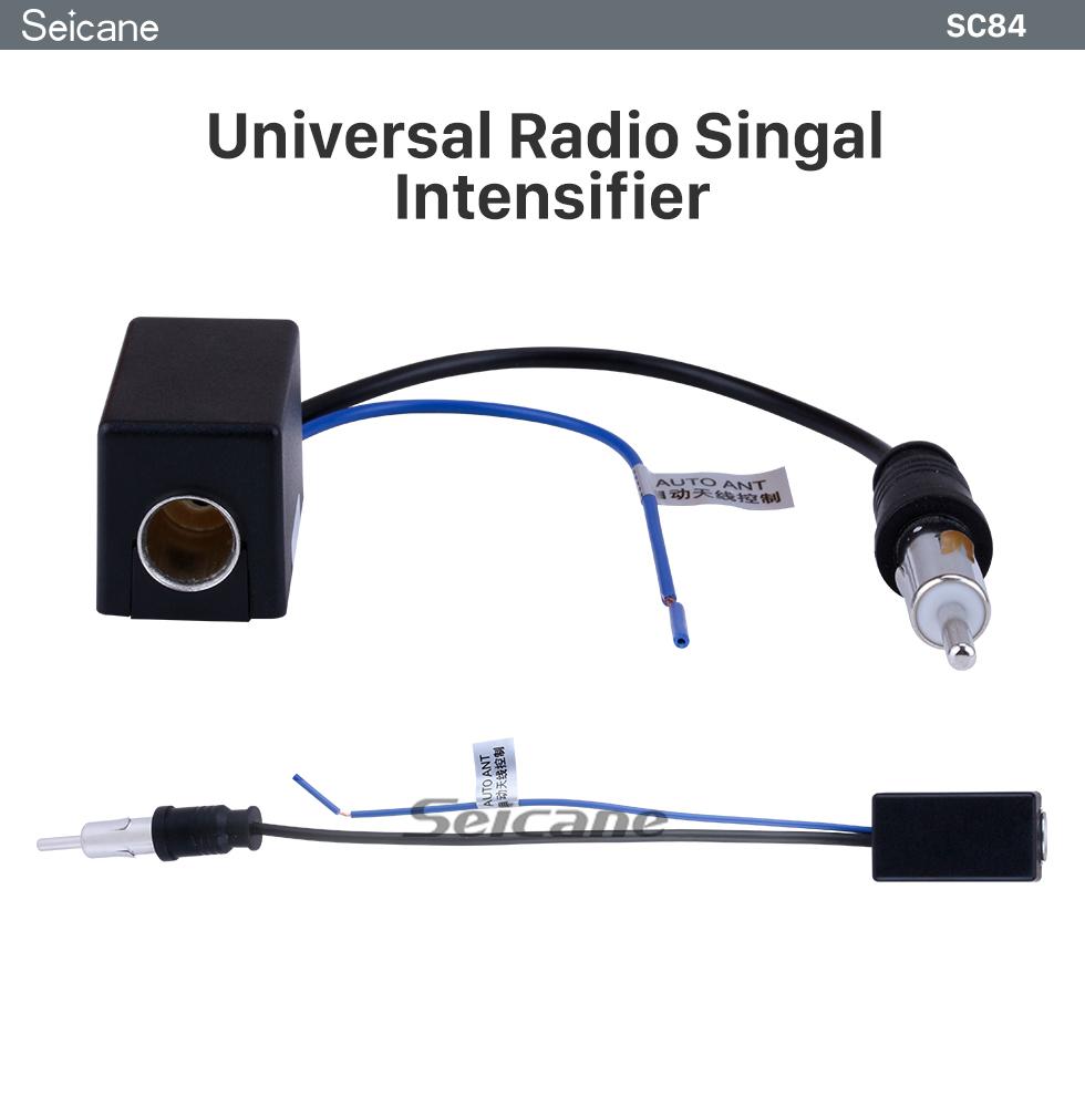 Seicane Universal RGB to AV CVBS Signal Intensifier Converter booster for Radios