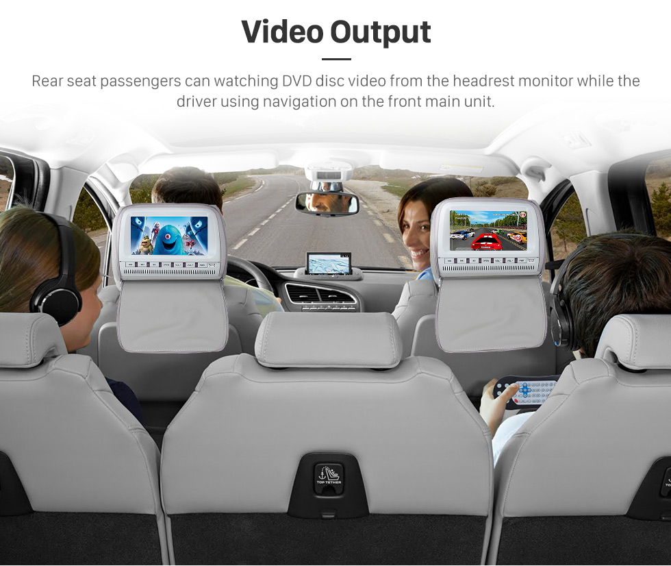 Seicane Android 8.0 2 Din Universal NISSAN TOYOTA Honda Radio GPS Navigation System Car Stereo with Mirror Link WiFi DVD Player Bluetooth 1080P Video USB
