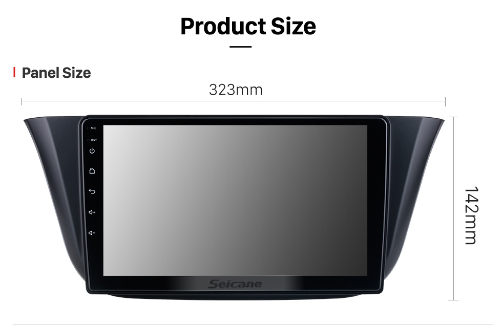 Seicane OEM 9 inch Android 10.0 for 2014 Iveco DAILY Radio with Bluetooth HD Touchscreen GPS Navigation System support Carplay DAB+