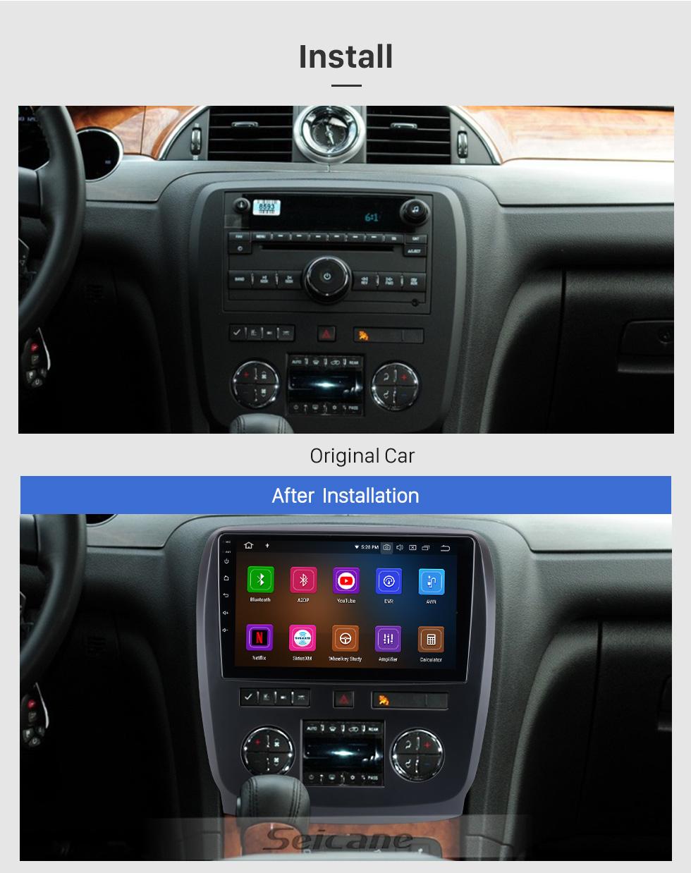Seicane Android 10.0 Für 2018 Honda Elysion Radio 9-Zoll-GPS-Navigationssystem Bluetooth HD Touchscreen Carplay-Unterstützung Rückfahrkamera