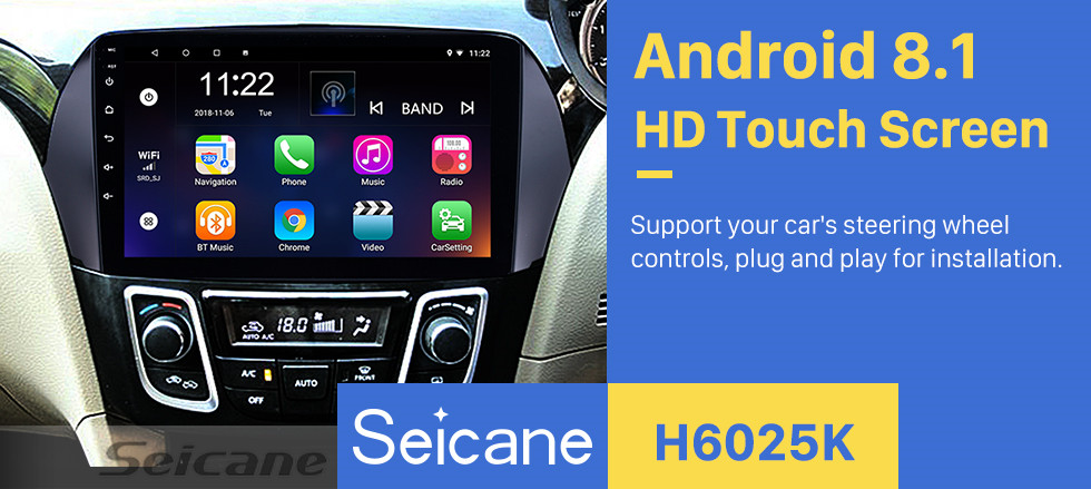 Seicane 9 Inch Android 8.1 HD touchscreen GPS Navigation System For 2016 Suzuki Alivio Bluetooth Radio Remote Control