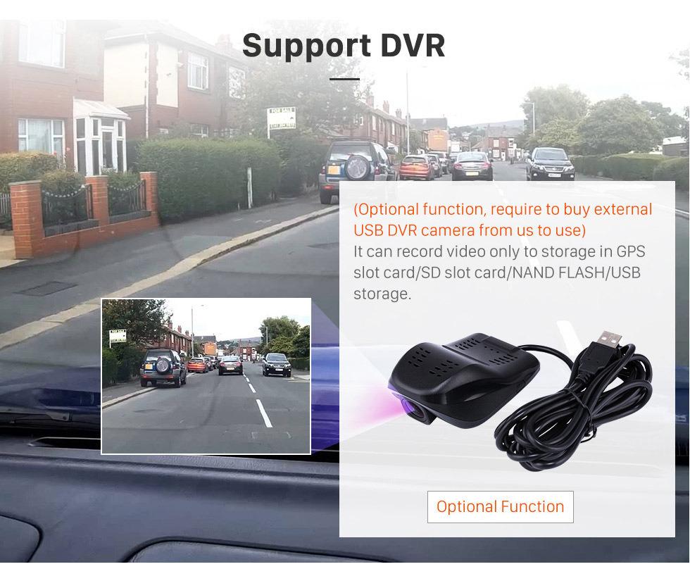 Seicane 9 polegada 2005-2015 Hyundai Clássico Santa Fé HD Touch screen Cabeça Unidade de Navegação GPS AUX MP3 Bluetooth Estéreo Do Carro TV Sintonizador Câmera Retrovisor