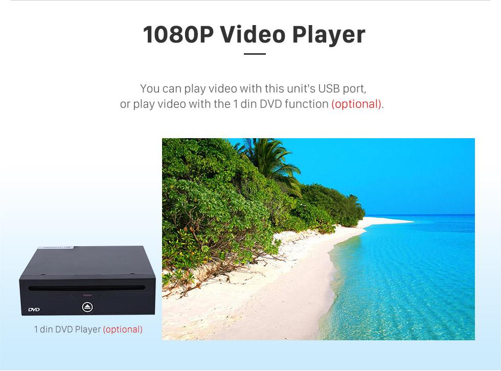 Seicane 2009 2010 2011 Audi A4L 8,8 Zoll Android 6.0-Kopfeinheit GPS-Navigationssystem Bluetooth-TV-DVD-Player Rückfahrkamera 1080P Lenkradsteuerung