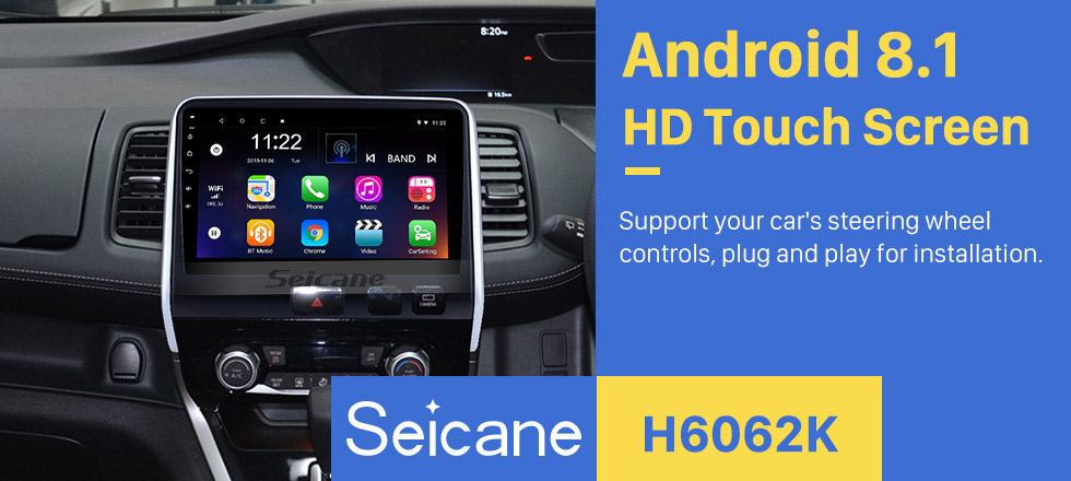 Seicane 2016 2017 2018 Nissan Serena 10.1 inch HD Touchscreen Android 8.1 GPS Navigation System Head unit Bluetooth Wifi auto Radio 3G WIFI USB Carplay support DVR TPMS