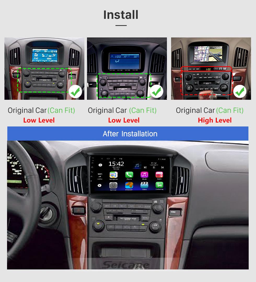 Seicane Pantalla táctil HD de 9 pulgadas para 2018 Honda Elysion Radio Android 10.0 Sistema de navegación GPS con soporte Bluetooth Carplay
