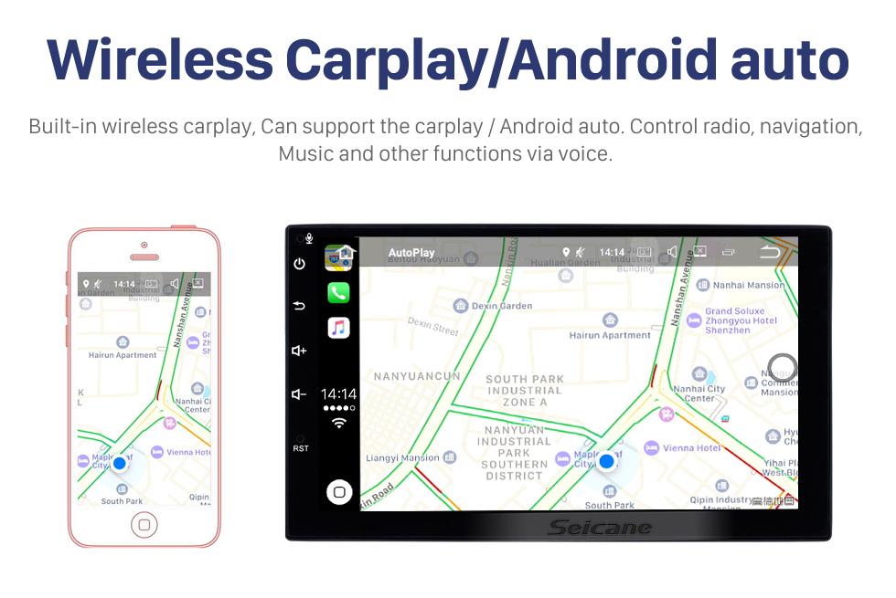 Seicane 9 inch Android 10.0 Radio Car Navigation Head Unit for VW Volkswagen Universal SKODA Seat with 4G WiFi Mirror Link OBD2 Bluetooth  Split Screen Display