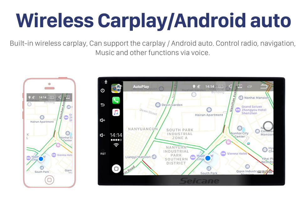 Seicane 2015 2016 Suzuki Vitara Android 10.0 Radio DVD player GPS navigation system with HD 1024*600 touch screen OBD2 DVR TV 1080P Video WIFI  Steering Wheel Control Bluetooth USB backup camera
