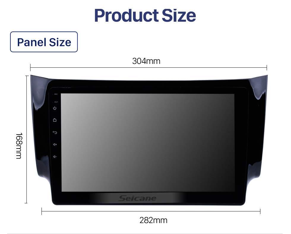 Seicane 10.1 inch 2012 2013 2014 2015 2016 NISSAN SYLPHY HD TouchScreen GPS Navigation System Head Unit Android 10.0 FM/AM/RDS radio Support TPM OBD II DVR USB Bluetooth