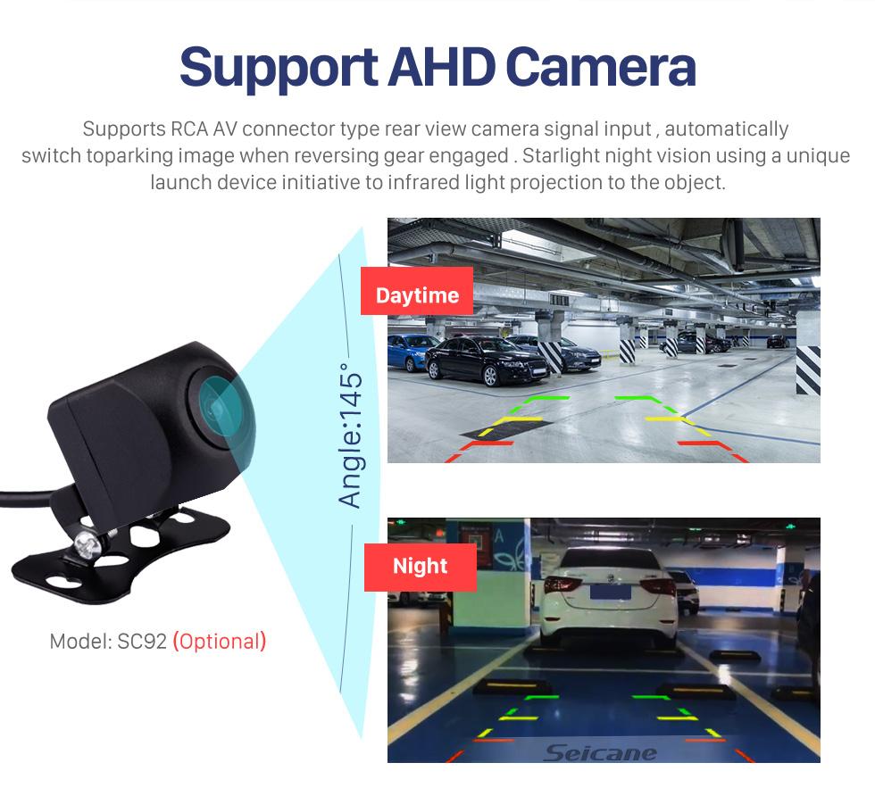 Seicane Écran tactile HD 9 pouces Android 10.0 Radio de navigation GPS pour 2011 2012 2013 2014 2015 Volvo S60 avec prise en charge Bluetooth AUX WIFI Carplay TPMS DAB + OBD2