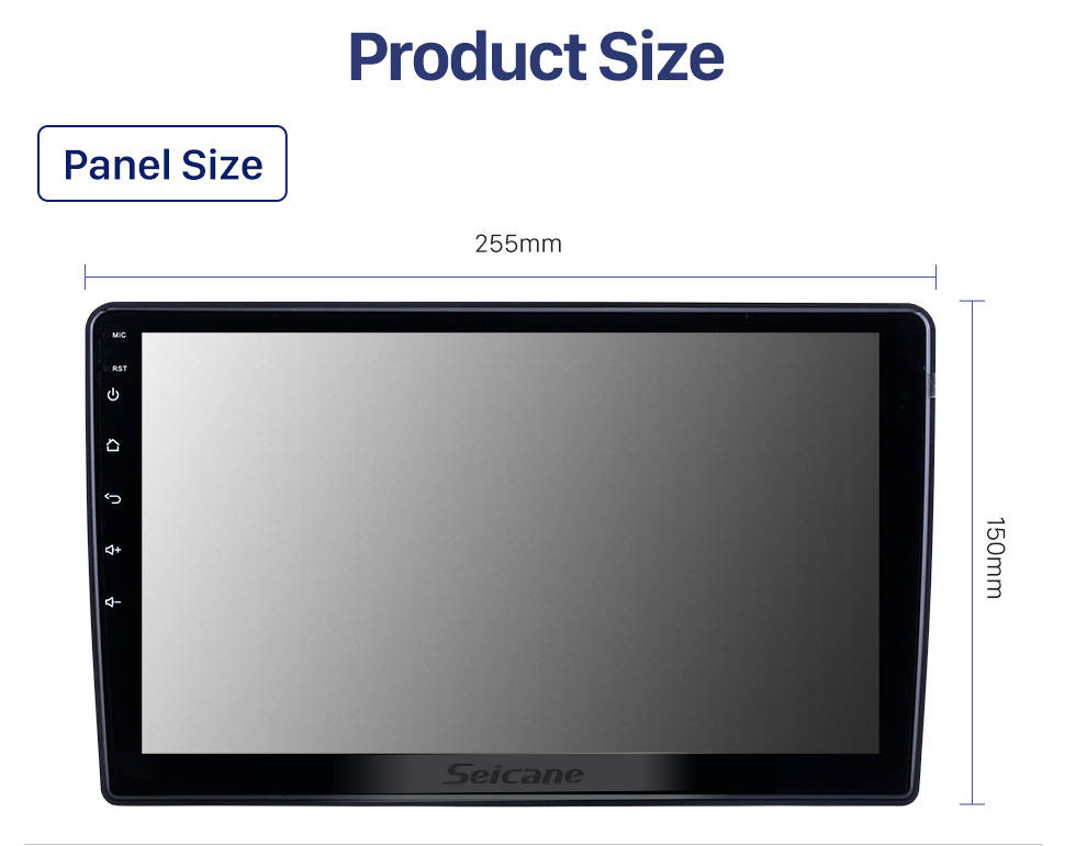 Seicane 10.1 inch Android 10.0 for 2002 2003 2004 Mercedes Benz C Class W203 Radio GPS Navigation With HD Touchscreen Bluetooth support Carplay DVR