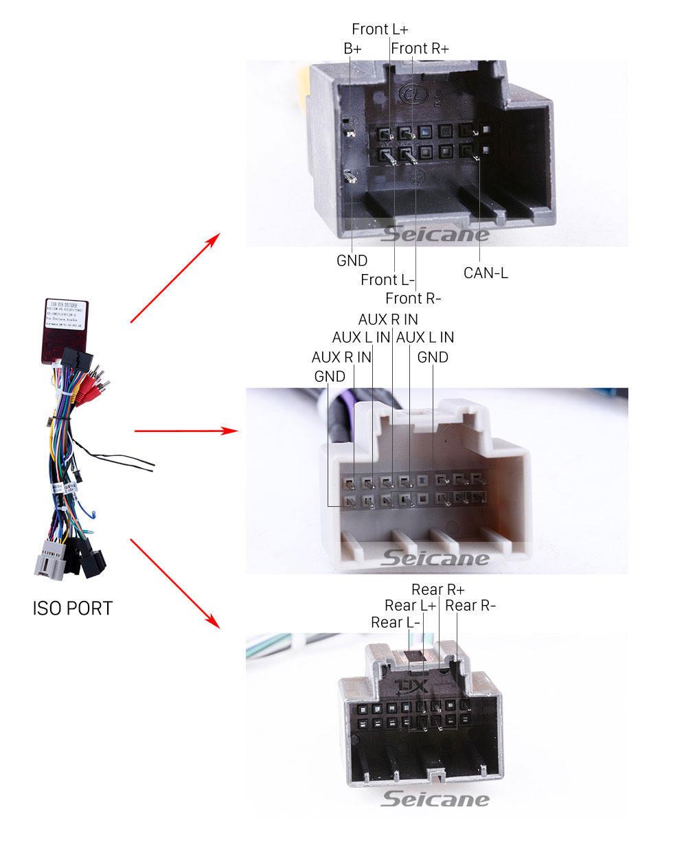 Seicane Android 9.0 GPS-Navigationssystem Stereo für 2007 2008 2009 2010 2011 GMC Sierra Mit WIFI DAB + DVR-Lenkradsteuerung Mirror Link