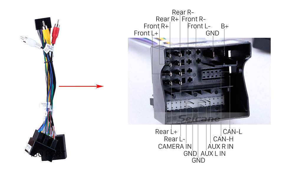 Seicane 10.1 Polegada OEM Android 9.0 Rádio sistema de Navegação GPS Para 2013 2014 2015 VW Volkswagen GOLF 7 Bluetooth HD Tela Sensível Ao Toque WiFi Música SWC TPMS DVR OBD II câmera traseira AUX 1080 P Vídeo USB Carplay