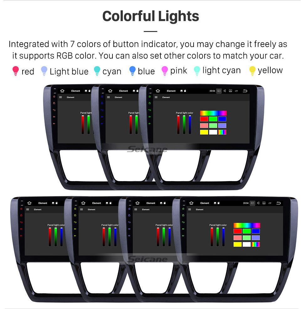 Seicane Android 9.0 2012 2013 2014 2015 VW Volkswagen SAGITAR 10.1 inch HD Touchscreen Bluetooth GPS Navigation Multimedia Player WIFI SWC DAB OBD2 USB Carplay 1080P Video