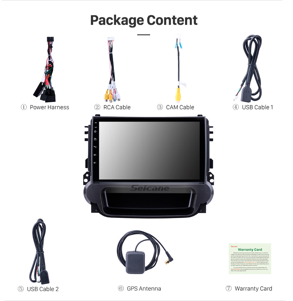 Seicane 9 inch Android 8.1 2012 2013 2014 Chevy Chevrolet Malibu Radio GPS Navigation System with 1024*600 Touchcreen Bluetooth Backup Camera DVR Steering Wheel Control Mirror Link