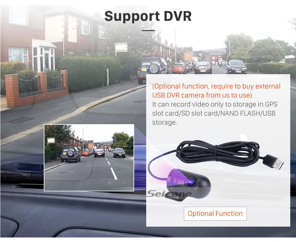 Seicane 7 polegadas Android 8.1 HD Touch Screen Rádio de Navegação GPS Universal com suporte Bluetooth WIFI 1080P Vídeo Controle de volante