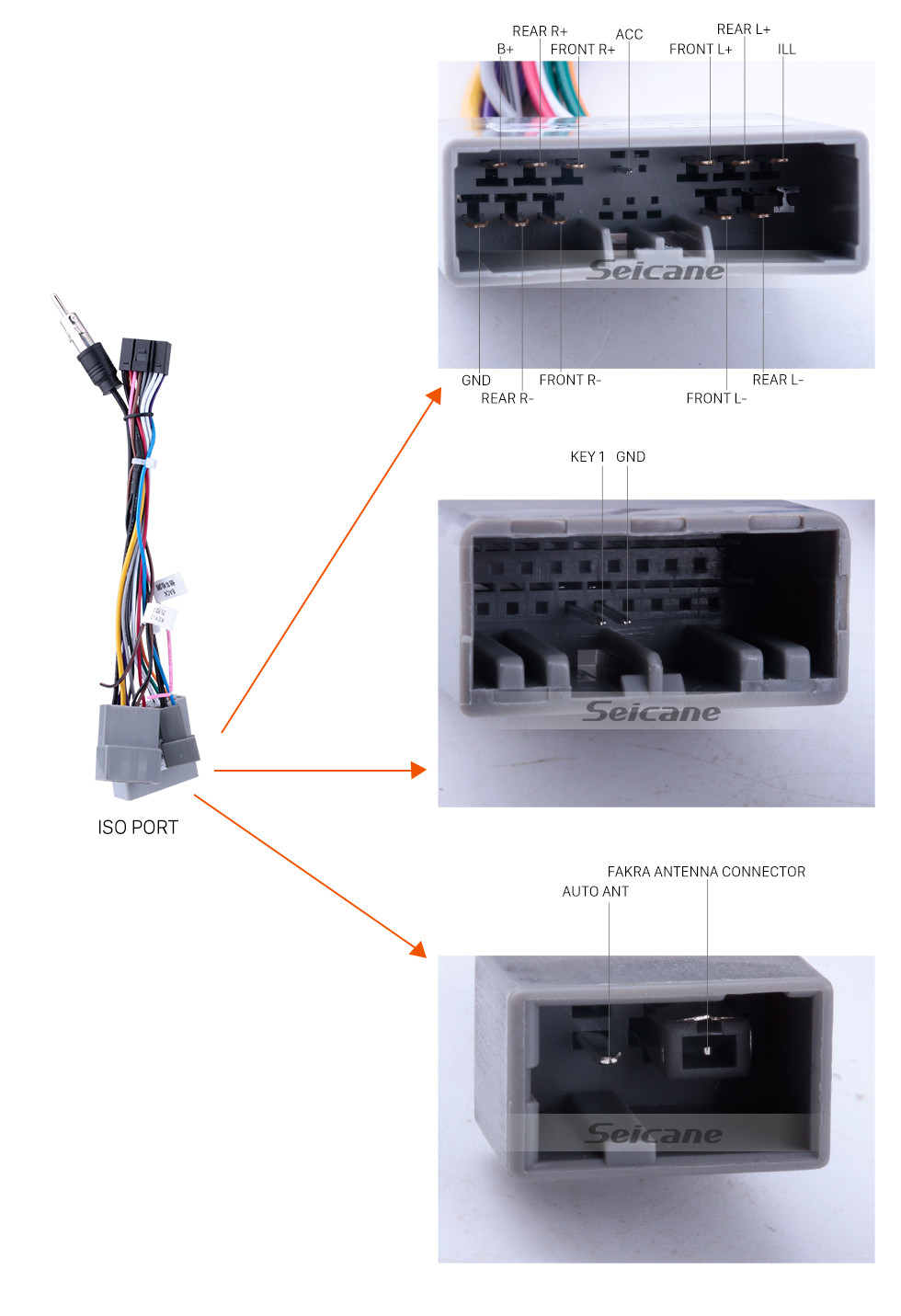 Seicane 10.1 pouces Android 8.1 2006-2011 HONDA CIVIC direction droite HD écran tactile Radio Système de navigation GPS WIFI USB Bluetooth Musique 1080P OBDII DVR Lien miroir