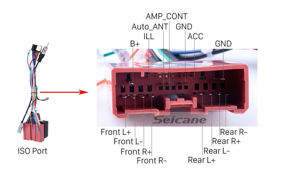 Seicane 9 pulgadas Android 8.1 2 Din Radio 2007-2014 MAZDA CX-7 Navegación GPS Reproductor de Bluetooth con USB SD 1080P Sistema de audio y video Aux