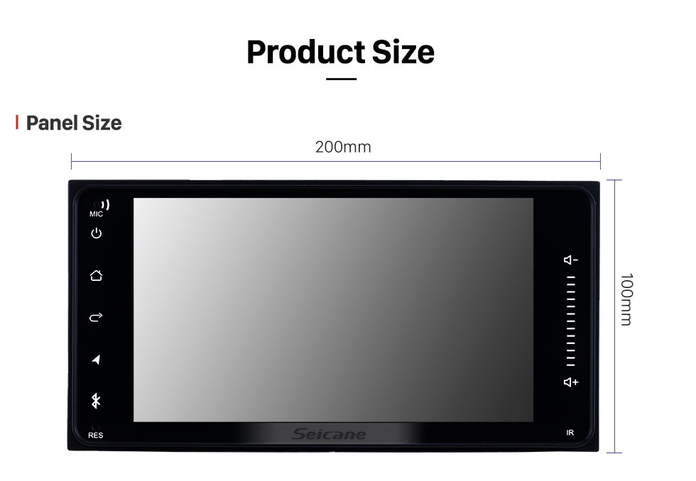 7 Inch Android 8 1 Toyota Fj Cruiser Universal Hd
