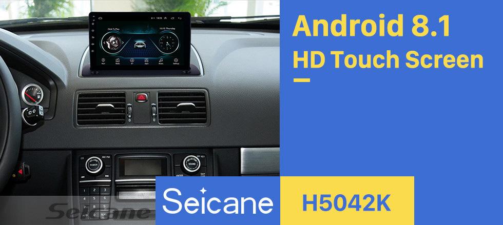 Seicane Android 8.1 de 9 pulgadas para 2004 2005 2006-2014 Volvo XC90 Radio HD Pantalla táctil Sistema de navegación GPS con Bluetooth WIFI Soporte Carplay Cámara trasera