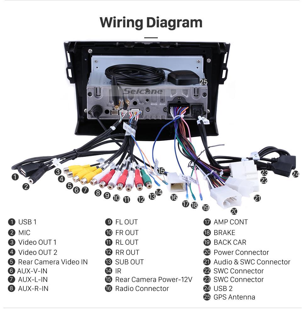 Toyotum Tacoma Radio Wiring