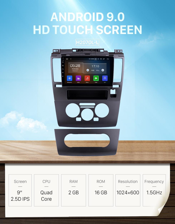 Seicane 9 Zoll 2005 2006 2007 2008 2009 2010 Nissan TIIDA HD Touchscreen Multimedia Player GPS-Navigation Android 9.0 Unterstützung Rückfahrkamera Blueooth Auto Stereo Aux USB DAB +