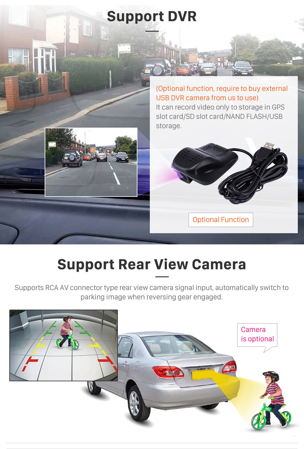 Seicane HD 1024 * 600 Android 8.1 2014 2015 2016 2017 2018 Hyundai IX35 TUCSON  Car Stereo Radio sistema de navegação GPS com Bluetooth Música Espelho Fazer a ligação USB SD AUX Steering Wheel Control