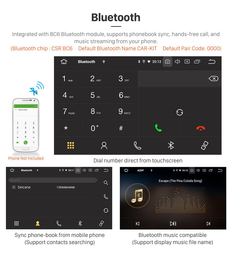Seicane Todo en uno Android 9.0 9 pulgadas 2010-2014 Subaru Outback LHD Radio con Bluetooth USB FM RDS compatible Mirror Link Reproductor de DVD 1080P Vídeo OBD SWC TPMS