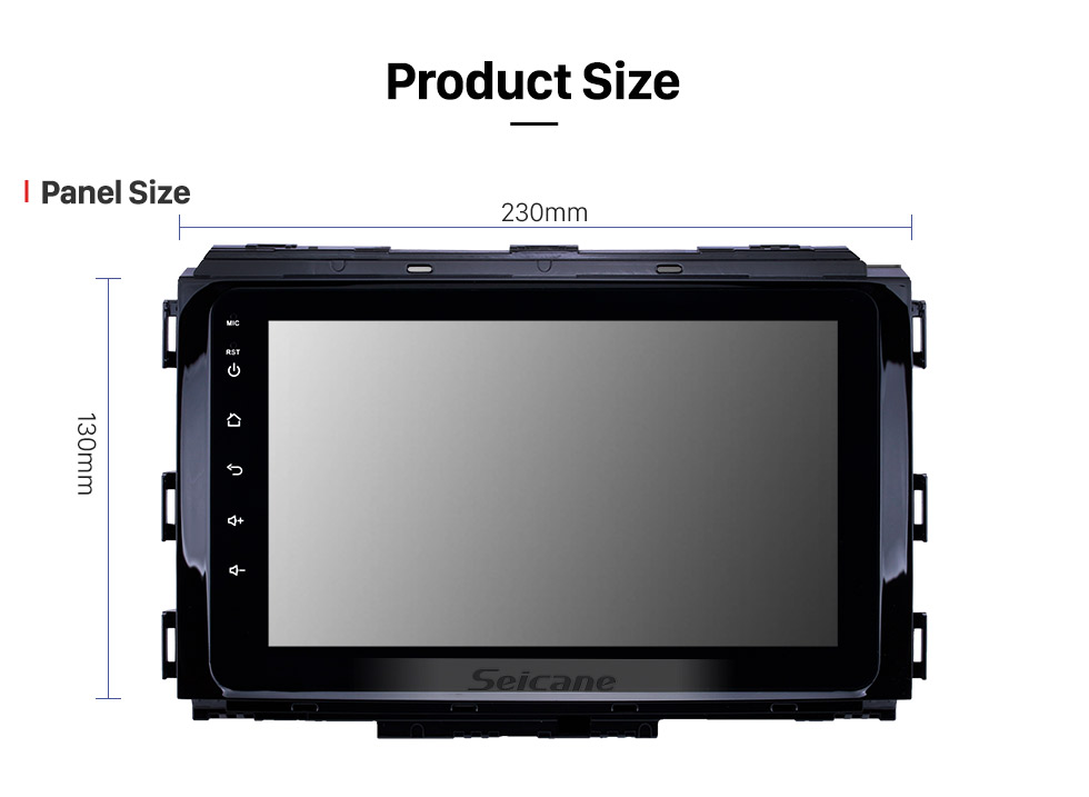 Seicane 8 inch HD Touchscreen Android 8.1 2014-2019 Kia Carnival GPS Navigation Radio with USB WIFI Bluetooth support SWC Carplay Steering Wheel Control