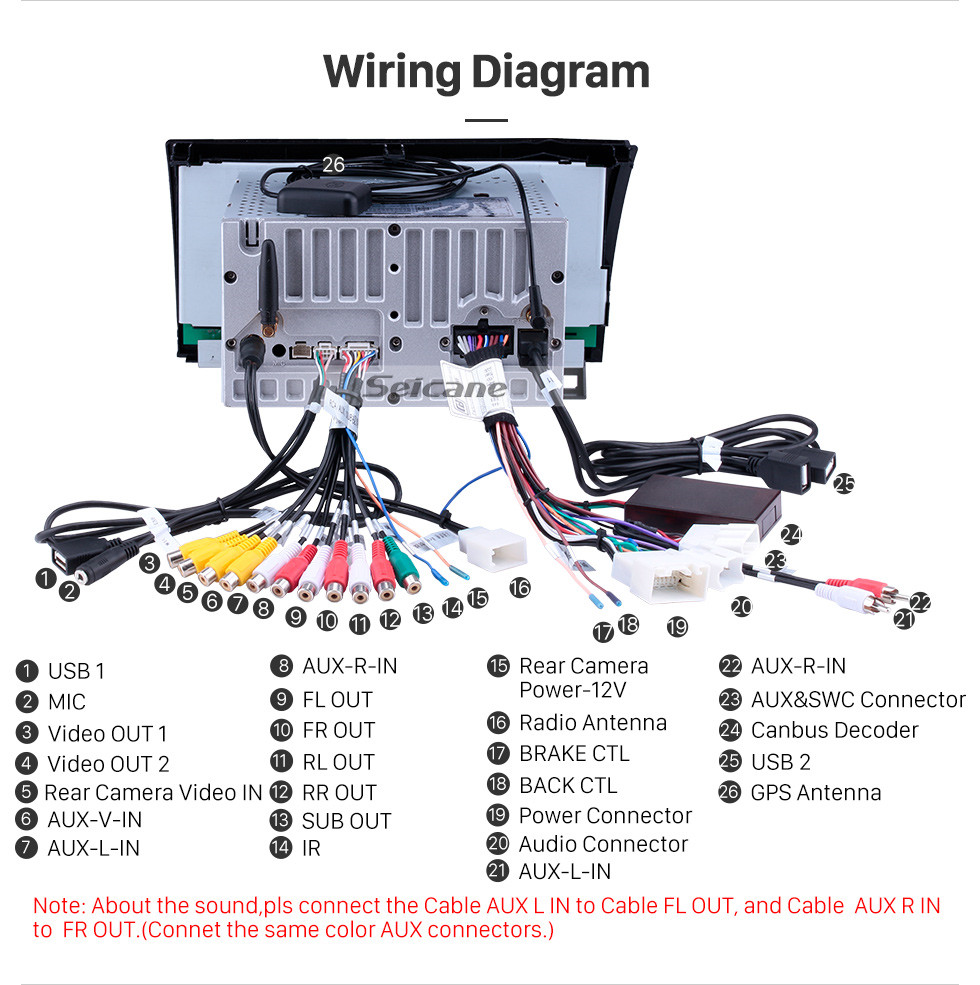 Hizpo Double Din Wiring Diagram
