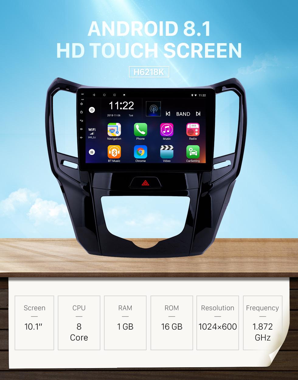 Seicane 10.1 polegada android 8.1 hd touchscreen gps rádio de navegação para 2014 2015 grande muralha m4 com bluetooth usb wi-fi apoio AUX Carplay TPMS Espelho link
