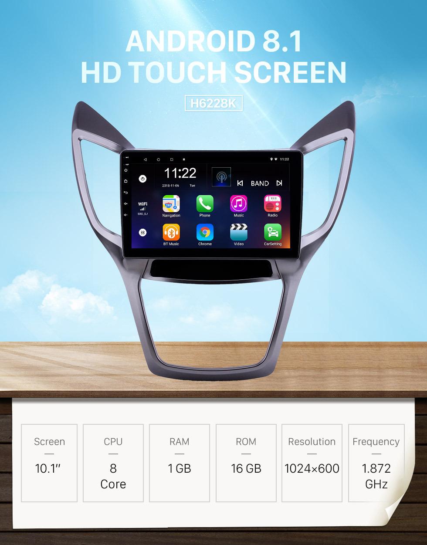 Seicane 10.1 polegada android 8.1 hd touchscreen gps rádio de navegação para 2013-2016 changan cs75 com suporte a bluetooth wi-fi aux carplay swc link espelho