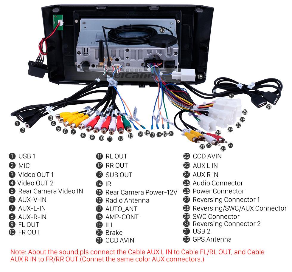 Seicane 10,1-дюймовый Android 9.0 радио для 2010-2017 Toyota ALZA Bluetooth Wifi HD с сенсорным экраном AUX GPS навигация Carplay Поддержка USB DVR Цифровое ТВ TPMS