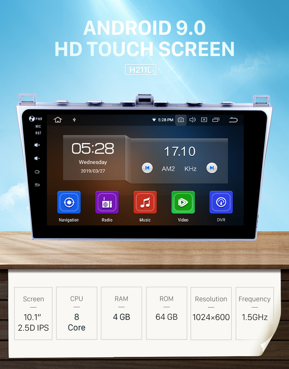Seicane Android 9.0 GPS Radio navigation system for 2008-2015 MAZDA 6 Rui wing Bluetooth Mirror link multi-touch screen OBD DVR Rearview camera TV USB WIFI