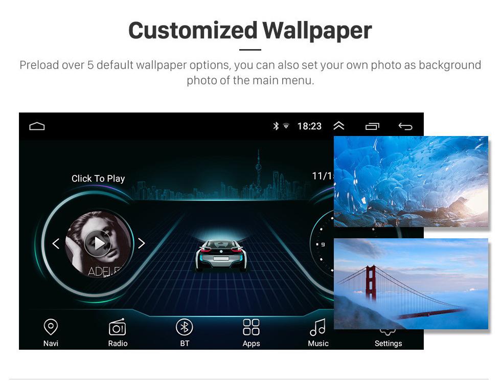 Seicane 9 Zoll Android 8.1 HD Touchscreen 2014 2015 Mazda 3 Axela GPS Navigationsradio 3G WIFI Bluetooth Unterstützung SWC DVR OBD Carplay TPMS