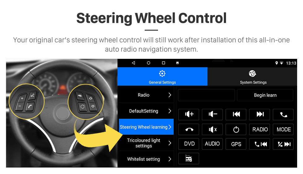 Seicane 10,1-дюймовый Android 8.1 GPS-навигатор для 2015-2018 Skoda Superb с сенсорным экраном HD Bluetooth USB AUX с поддержкой Carplay TPMS
