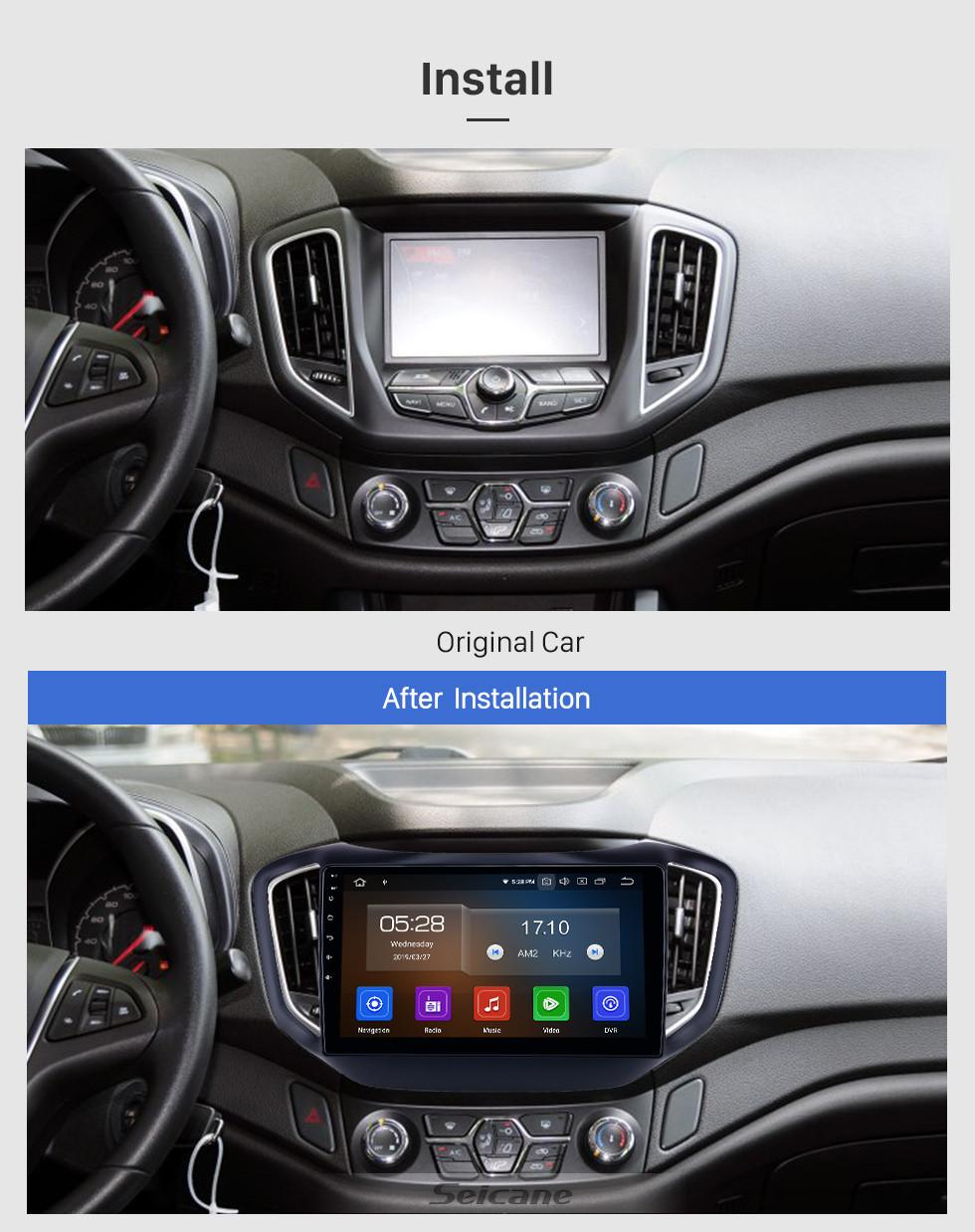 Seicane 10,1 Zoll HD Touchscreen 2014-2017 Chery Tiggo 5 Android 9.0 GPS Navigationsradio Bluetooth WIFI Carplay Unterstützung TPMS OBD2