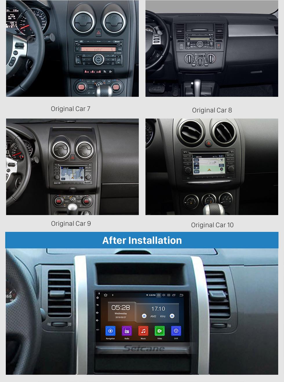 Seicane Android 9.0 2 Din Universal NISSAN TOYOTA Radio Honda Sistema de navegación GPS Estéreo del coche con Mirror Link WiFi Reproductor de DVD Bluetooth 1080P Video USB