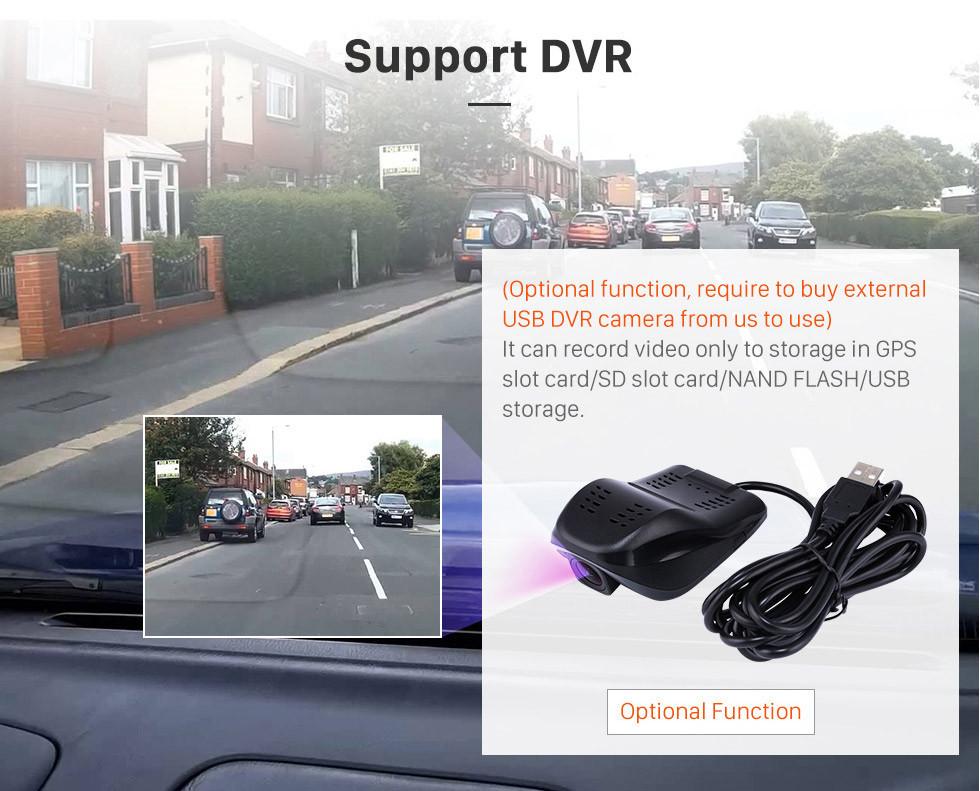 Seicane 9,7 pouces Android 9.1 2013 Radio de navigation GPS Toyota Reiz avec écran tactile HD Bluetooth Musique soutien Carplay Mirror Link