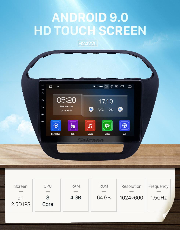 Seicane HD Touchscreen 2019 Tiago Nexon Android 9.0 9 inch GPS Navigation Radio Bluetooth AUX Carplay support Rear camera DAB+ OBD2
