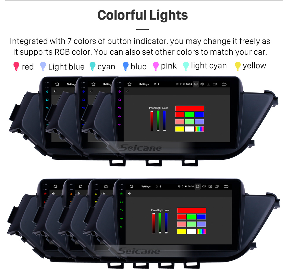 Seicane 2015-2018 Nissan Bluebird Android 9.0 9 inch GPS Navigation Radio Bluetooth HD Touchscreen USB Carplay support DVR DAB+ SWC
