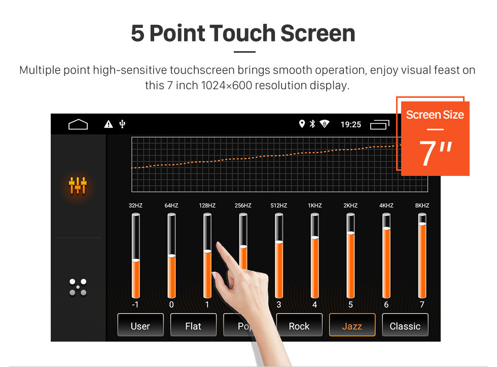 Seicane HD Touchscreen for 2004 2005 2006-2011 VW Volkswagen Touareg 2009 T5 Multivan/Transporter Radio Android 9.0 7 inch GPS Navigation System Bluetooth support Carplay OBD2