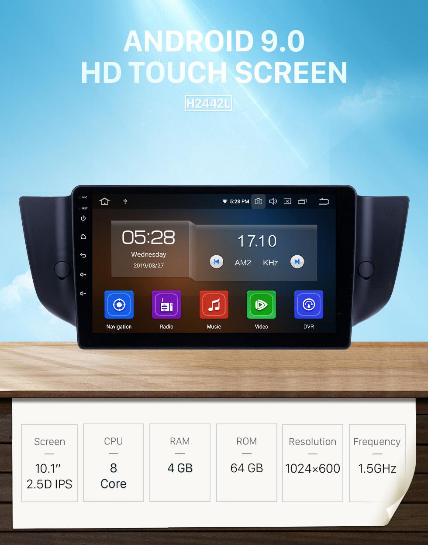 Seicane 2010-2015 MG6/2008-2014 Roewe 500 Android 9.0 9 inch GPS Navigation Radio Bluetooth HD Touchscreen USB Carplay support DVR SWC