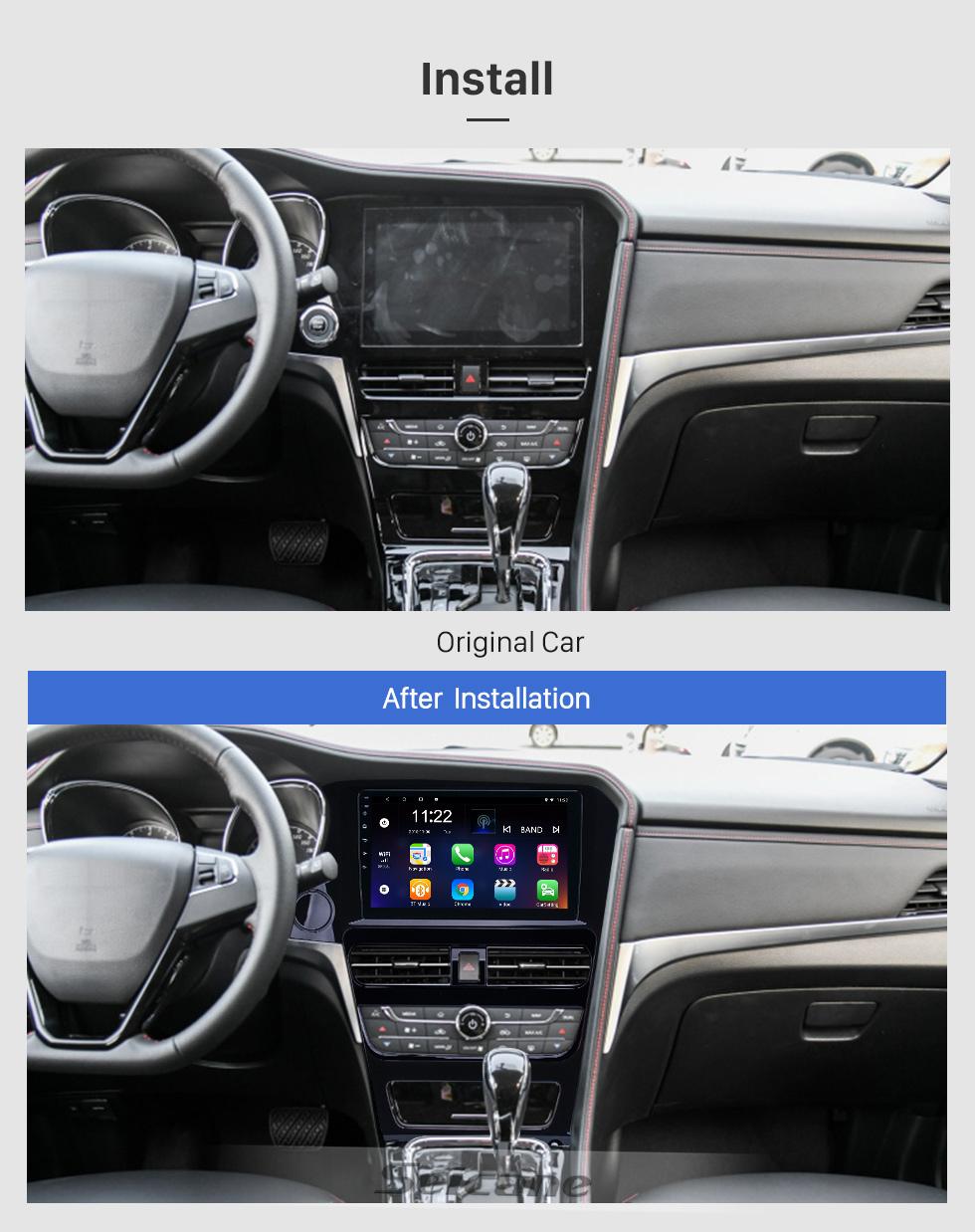 Seicane 10,1 Zoll GPS Navigationsradio Android 8.1 für 2018-2019 Venucia T70 High Version mit HD Touchscreen Bluetooth Unterstützung Carplay DAB +