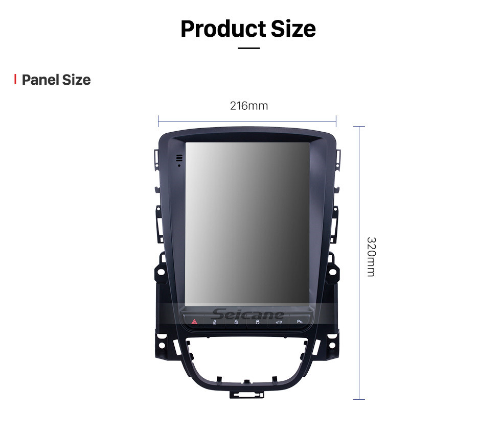 Seicane HD Touchscreen 2009 2010 2011-2019 Buick Excelle 2009-2014 Opel/Vauxhall/Astra J Buick/Verano Radio Android 9.1 9.7 inch GPS Navigation Bluetooth support Carplay