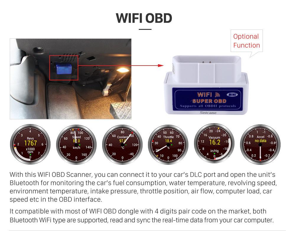 Seicane Android 9,0 8,8 Zoll für BMW X3 F25 / X4 F26 (2014-2016) NBT Radio HD Touchscreen GPS-Navigationssystem mit Bluetooth-Unterstützung Carplay SWC
